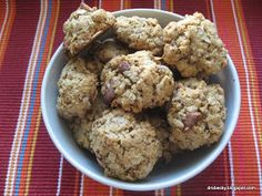 drobečky: Arašídové cookies Crinkles, Food Inspiration, Cauliflower, Cookies, Baking, Vegetables, Sweet, Fitness, Bread Making
