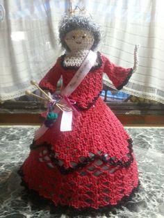 Muñeca al crochet