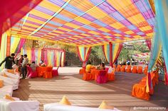 Ideas For Wedding Photography Indian Outdoor Wedding Ceremony Music, Wedding Mandap, Outdoor Wedding Decorations, Outdoor Wedding Venues, Party Outdoor, Rustic Invitations, Bridal Photography, Real Weddings, Wedding Inspiration