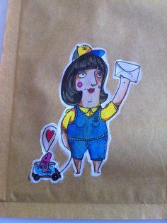 Cartera // postwoman