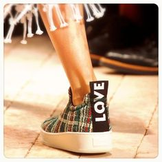 Céline S/S14 LOVE sneakers