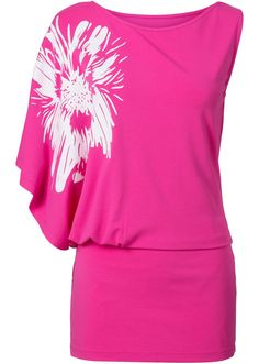 Fledermausarm longshirt Minikleid Shirt Gürtel one size Dress