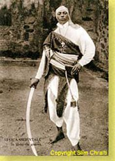 18th century Ethiopian warrior