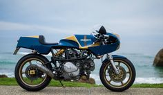 Ducati Pantah Cafe Racer - Switch Stance Riding - Photo by Marc Holstein Photography #motorcycles #caferacer #motos   caferacerpasion.com