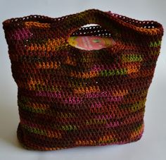 Crochet Dynamite: Dynamite Market Bag...make it with double strand to make it sturdier...