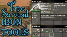 True Survival SDX | Iron Tools | Episode 26 | 7 Days To Die Modded