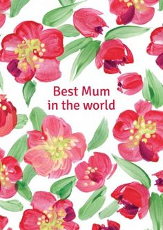 Buy personalised cards from Scribbler. Tulips Mother's Day card from Lucilla Lavender. Buy 2 or more cards for free UK delivery. Greeting Card Shops, For What It's Worth, Mothers Day Cards, Beautiful World, Tulips, Invitations, Boards, Explore, Group