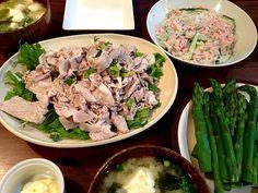 さっぱりメニュー!( *´艸`) - 8件のもぐもぐ - 冷しゃぶと春雨サラダ by yuurimaman