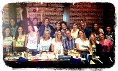 Casey Corwin's birthday celebration! #samurai #blue #birthday