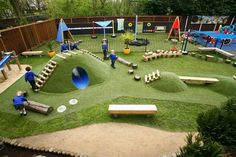 Rookwood Nursery School and Academy's new playscape designed by Wicksteed has been shortlisted by the British Council for School Environments in the Outside Playground, Natural Playground, Outdoor Play Spaces, Outdoor Fun, Outdoor Learning, Outdoor Activities, Play Structures For Kids, Outdoor Play Equipment, Sensory Garden