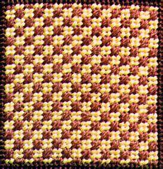 Photo of Mosaic Checker Decorative Stitch