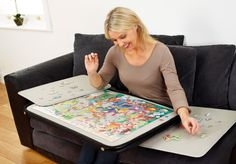 Portapuzzle Deluxe 1000 Piece Jigsaw Puzzle Case - The Ideal  Solution! http://jigsawpuzzlesforadults.com/portapuzzle-deluxe/