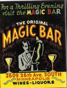 ohhh...a magic bar!  Perhaps each signature drink is served with a magic trick on the side!