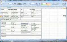 41 best genealogy excel spreadsheets images family trees