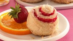 Strawberry Roly-Polies