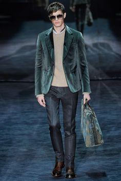 Gucci Fall 2012 Menswear Fashion Show