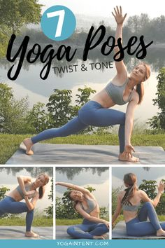 Twist yoga poses help aid your digestion, tone your abs, and can relive lower back pain. On top of that, they tend to leave you feeling pretty damn good. So in this post I'll take you through 7 easy yoga poses that will help you twist and tone! Lose Weight In A Week, Loose Weight, How To Lose Weight Fast, Reduce Weight, Quick Weight Loss Diet, Weight Loss Help, Healthy Weight, Yoga Journal, Yoga Challenge