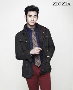 Kim Soo Hyun (김수현) for ZIOZIA (지오지아) 2012 F/W #21 #KimSooHyun #SooHyun #ZIOZIA