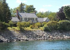 24 Shore Rd, Southwest Harbor, ME 04679   MLS #1491963   Zillow Real Estate Broker, Luxury Real Estate, Maine Real Estate, Shingle Siding, International Real Estate, Coastal Homes, Maine House, Mountain View, Cottage Style