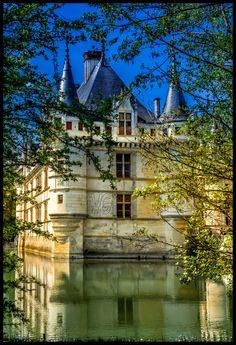 Castillo de Azay Le Rideau (Francia) por Victor Manuel Gancedo