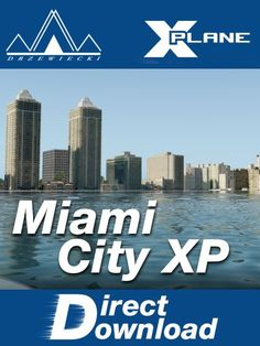 Miami City, County Seat, Airports, Buildings, Scenery, Coast, Florida, United States, Beauty