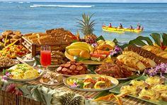 Breakfast Buffet at Duke's in Waikiki