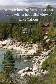 The homes for sale at Incline Village NV are designed to provide comfort and luxury at the same time.