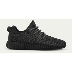 Adidas Yeezy 350 Boost Pirate Black DSK-024 ❤ liked on Polyvore featuring adidas