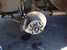 """Morris 4 pot willwood caliper and 9.25"""" rotor kit contact us for info."""