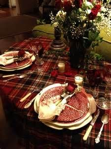 plaid valentines table - - Yahoo Image Search Results