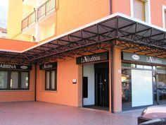Pensilina banca La Valsabbina