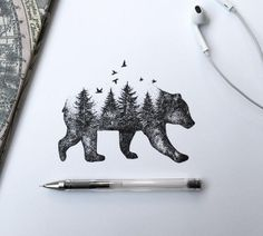 Beautiful Sketches Pen Drawings by Alfred Basha 02 |