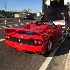 #ferrari #f50 #truck #red