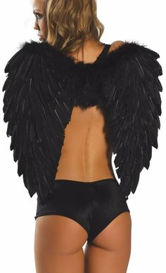 ROMA Feather WINGS PARTY COSTUME  ACCESSORIES #Roma #party
