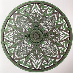 Colorit Mandalas Colorist: Teri Hunter #adultcoloring #coloringforadults #mandalas