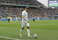 Gerrard was disappointing for England against Uruguay