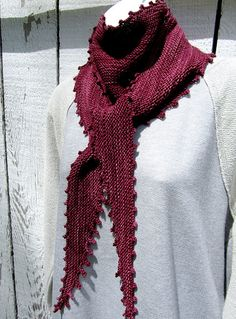 Pinot Ce Soir Crescent Shawl, Knit Shawls, Blue Jeans, Scarves, Fashion Accessories, Wraps, Knitting, Pretty, Beauty
