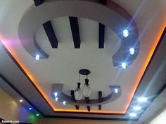 """If we think of the ceilings in our homes, so often the first thing that comes to mind is """"white, bland and boring."""" We make so much effort with the rest Latest False Ceiling Designs, Simple False Ceiling Design, Interior Ceiling Design, House Ceiling Design, Ceiling Design Living Room, Bedroom False Ceiling Design, Interior Exterior, Pop Design For Hall, Drawing Room Ceiling Design"""