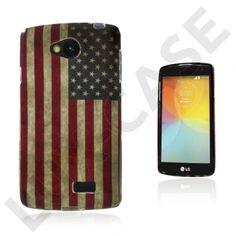 Westergaard LG F60 Deksel - Vintage USA Flagg Usa Flag, Smartphone, Phone Cases, Led, Cover, Vintage, Blankets
