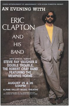 An Evening With Eric Clapton & A Few Very Special Guests...WOW!!