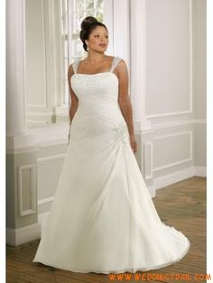 01fcbba8b3036 Plus Size Elegant Formal Satin Inexpensive Wedding Dress Plus Wedding  Dresses, Wedding Dress Chiffon,