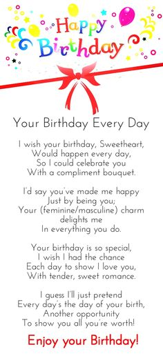 50 birthday wishes for husband pinterest romantic birthday need happy birthday poems for your husband wife brother or sister find funny short happy birthday poems for your friend mom or daughter right here m4hsunfo