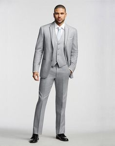 Two-Button Super 120s Satin-Framed Notch Lapel Tuxedo | The Men's Wearhouse® | https://www.theknot.com/fashion/1180-joseph-abboud-tuxedo