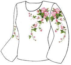 Белая женская вышиванка ВЖПс-007Б
