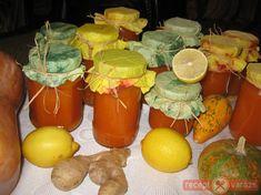 Sütőtök lekvár Preserves, Stuffed Peppers, Orange, Fruit, Vegetables, Food, Preserve, Stuffed Pepper, Essen