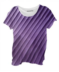 Leaf Purple Drape Shirt By mae-glenn $48.00  This abstract design in shades of purple was created from an original closeup photograph of a banana leaf. The diagonal bands are the ribs of the leaf.