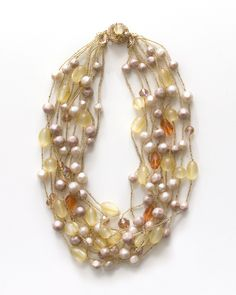 The Champagne Nights Necklace by JewelMint.com, $36.00