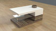 3D Model Bridgetown Coffee Table V2 - 3D Model