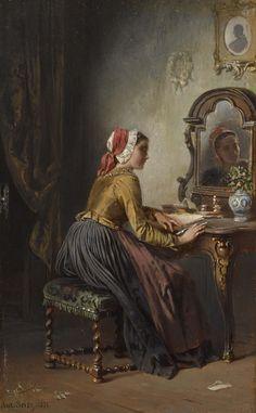 Anton Seitz/Антон Зайтц (German, 1829-1900)