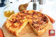 Ricetta Torta salata di speck brie e pere